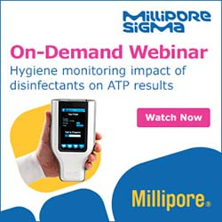 MilliporeSigma - On-Demand Webinar - Hygiene monitoring impact of disinfectants on ATP results