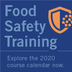 Eurofins - Food Safety Training - Explore the 2020 course calendar now